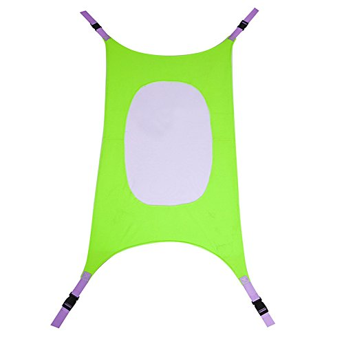 Detachable Baby Crib Hammock, Adjustable One Size Fits All, Imitates Womb, Portable Baby Sleeping Bed Folding Infant Crib, Easy to Use Safety Bed for Crib or Bassinet for Infants Nursery (green) by RONGT