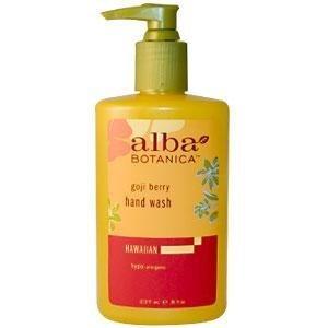 Alba Hand Wash (Alba Botanica Gentle Hand Wash-Goji Berry-8, oz. by Hain-Celestial)