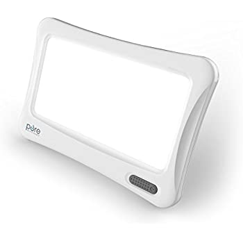 PureBliss Energy Lamp – 10,000 Lux Natural Bright Light Therapy – Ideal for Naturally Boosting Mood & Energy Year Round