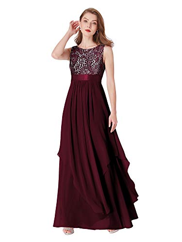 Ever-Pretty Womens Long Evening Cocktail Dresses 10 US Red