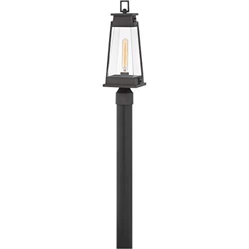 Outdoor Post 1 Light Fixtures with Aged Copper Bronze Finish Aluminum Material Medium Bulb 7