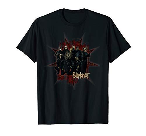 - Slipknot Star Scratch Band T-Shirt
