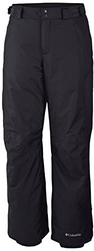Columbia Mens Arctic Trip Omni-Tech Ski Snowboard Pants-Black-Large