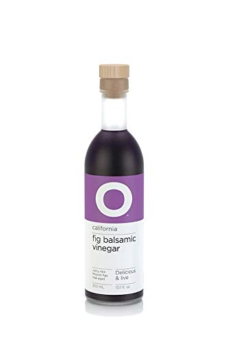 O OLIVE OIL & VINEGAR California Fig Balsamic Vinegar, 6.76 Fluid Ounce