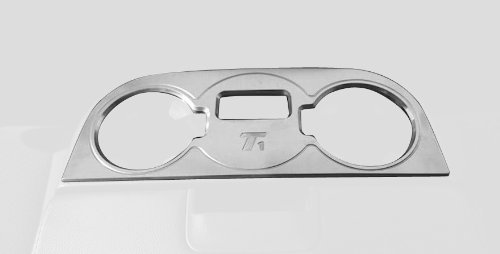 T-Rex 11110 T1 Series Billet Brushed Interior Center Console Cup Holder
