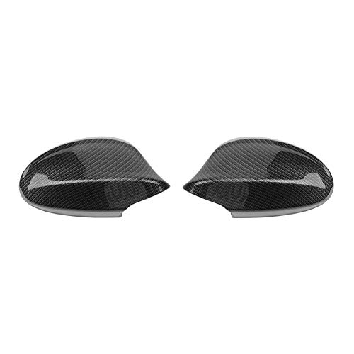Widewing 1 Pair Carbon Fiber Rearview Side Mirror Cover for BMW 3 Series E90 Facelift 328i 323i 335d 335i 2009-2012