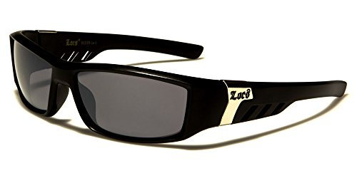 Locs - Lunettes de soleil - Homme multicolore Multicoloured Matte black/smoke lens
