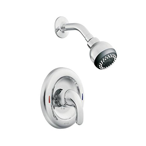 Moen L82691EP Single Handle Posi-Temp Pressure Balanced Shower Trim from the Adler Collection, Chrome