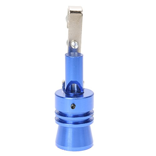 Vanpower Aluminum Alloy Size XL Universal Car Turbo Sound Whistle Muffler Exhaust Pipe (Blue) (Blowoff Valve Electronic)
