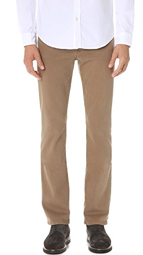 7 For All Mankind Mens Slimmy Slim Straight Colored Luxe Performance Jean Sand 34W x 34L