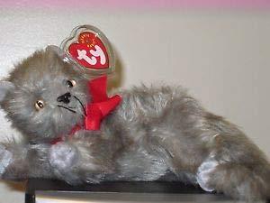 Ty Beanie Babies - Beani the Gray Cat