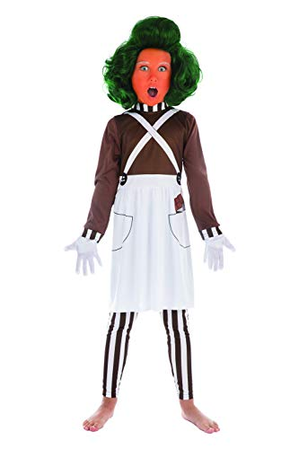 Bristol Novelty Unisex Chocolate Factory Worker Costume Size -