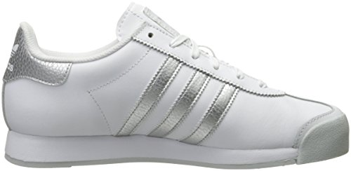 adidas Originals mujer Samoa W Zapatillas White/Metallic Silver/Light Grey