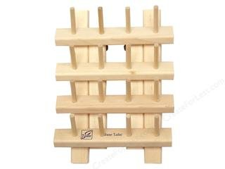 HARDWOOD BOBBIN RACK WITH ()