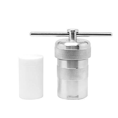BAOSHISHAN 100ml Hydrothermal Synthesis Autoclave Reactor 6Mpa 240C 304 Stainless Steel High-pressure Digestion Tank with PTFE Lining for Rapid Digestion of Insoluble Material by BAOSHISHAN (Image #7)