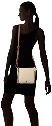 GERRY WEBER Ocean City Shoulderbag Svz - Bolso de hombro Mujer Beige (Beige (taupe))