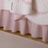 Julia Queen Bed Skirt Solid Pink Alternate