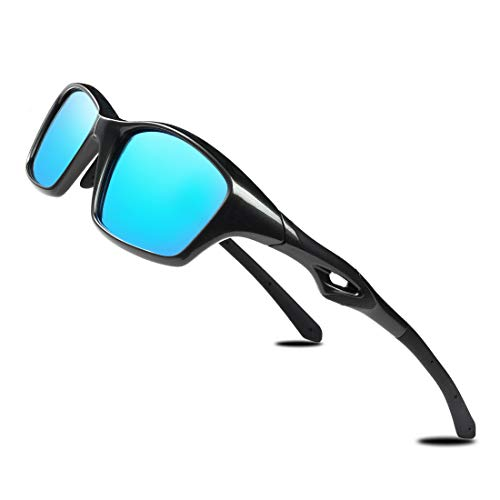 TR90 Polarized Sport Sunglasses for Men Women Flexible Driving Sun Glasses Shades for Running Cycling Fishing