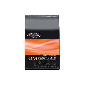 Purina Canine OM Overweight Management Select Blend Dry Dog Food 6 lb