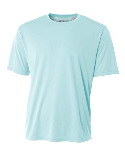 A4 Men's Cooling Performance Crew, Pastel Blue, X-Large ()