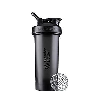 BlenderBottle Classic V2 Shaker Bottle, 28-Ounce, Black