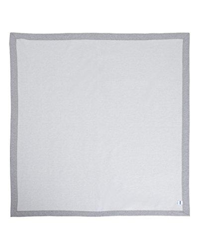 Stadium Throw Blanket - Gildan G129 9.3 oz. DryBlend Performance Fleece Stadium Blanket SPORT GREY