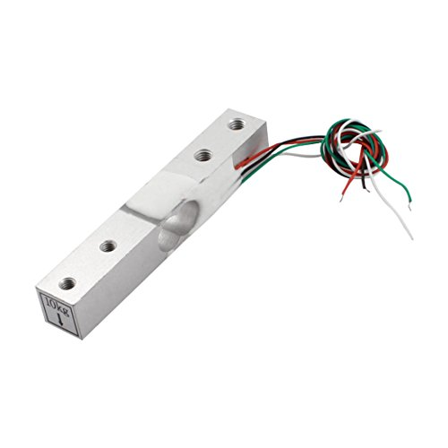 Uxcell a14071900ux0057 10Kg Aluminium Alloy Electronic Scale Load Cell Weighting Sensor Replacement