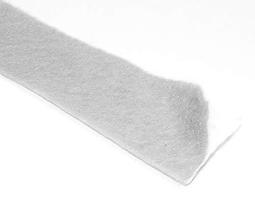 (Adhesive Backed Gray Felt Tape - 50 Ft Long Roll, 1/16
