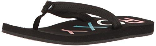 Roxy Womens Vista Sandal Flip-Flop Black 3 t6ufh0v