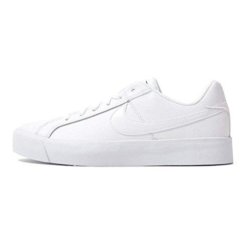 Ac Pour Blanc Court Nike noir Royale De Blanc Femme Chaussures Gymnastique Wmns xTqnHSnY0w