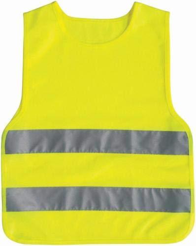 talla S Chaleco reflectante para ni/ños de 5 a 12 a/ños ProPlus color amarillo ne/ón