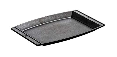 Lodge Cast Iron Rectangular Griddle, 11.6 x 7.75 inch - 3 per case.