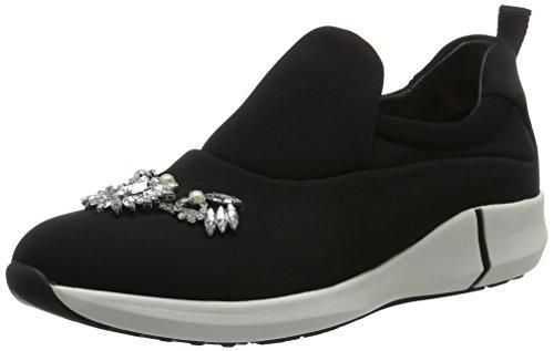 Marc Cain Damen GB Sh.13 J09 Sneaker Schwarz (Black)