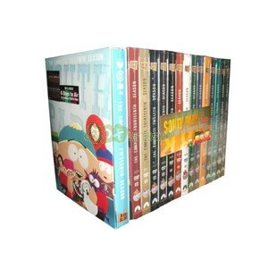 South Park - Complete Seasons 1-15 DVD Sets (1,2,3,4,5,6,7,8,9,10,11,12,13,14,15) (Southpark Full Series compare prices)