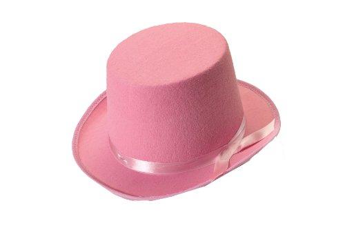 Forum Novelties Men's Deluxe Adult Novelty Top Hat, Pink, One Size ()