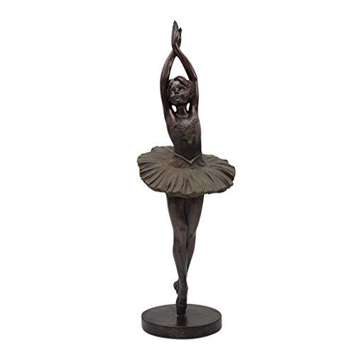 - MAOFU Resin Crafts Home Decoration Ballerina Sculpture, Decoration Home Living Room Retro Character Resin European Crafts Home Decorations (Color : E)