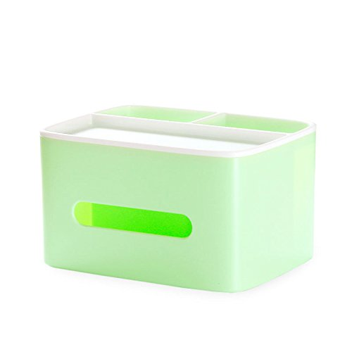 ETERLY Tissue Box, Tray, Home Living Room, Dining Room, Coffee Table, Simple and Lovely Remote Control, Storage, Multi-Function, Creative Home