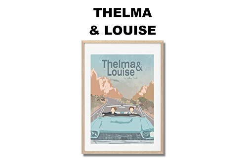 MugKD LLC Thelma & Louise Movie Print Gifts for Lovers Poster [No Framed] Poster Home Art Wall Posters]()