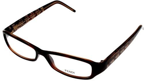 Fendi Eyeglasses Womens FS718 238 Dark Havana