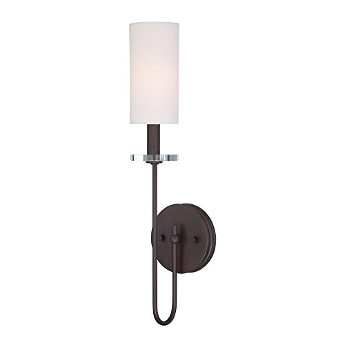 Monroe 1 Light Sconce - World Imports WI973597 Monroe 1 Light Sconce Dab