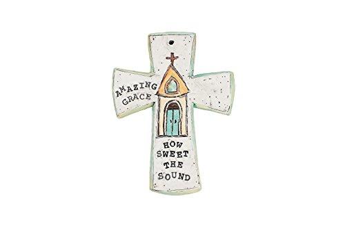 "Glory Haus Chapel Amazing Grace Cross, 5 x 7"""
