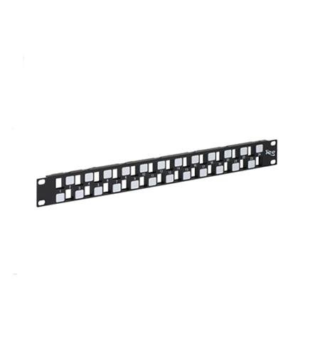ICC Patch Panel- Blank- Ez- 24-Port- 1 Rms