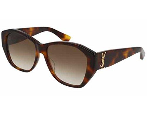 Yves Saint Laurent SL M8 003 56mm Avana / Brown - Ysl Sunglasses Men
