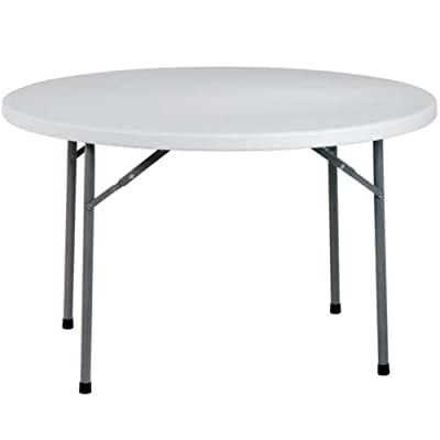 Office Star Products 4ft Round Multi Purpose Folding Table - White