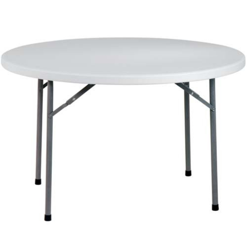 Office Star Products 4ft Round Multi Purpose Folding Table   White