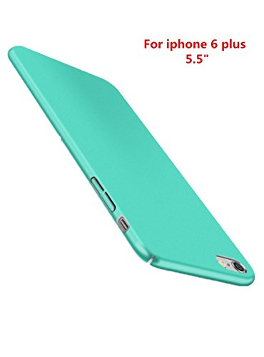 Funda iPhone 6 Plus 6s Plus,Wouier® con Bumper Carcasa pulgadas 360° Protective Case Anti-rasguños Estuche PC ultrafina Slim Protectora Caso de la Cubierta para iPhone 6 Plus 6s Plus Verde