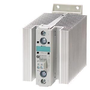 Siemens 3RF23 40-1BA06 SIRIUS SC Semiconductor Contactor 40 A Type Current 3RF23401BA6 Single Phase Screw Connection 48-600V Rated Operational Voltage 1600V Blocking Voltage Instantaneous Switching