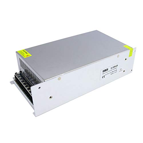 ing Power Supplies AC to DC Transformer 24V 1000W SMPS for Electronics led Strip ()