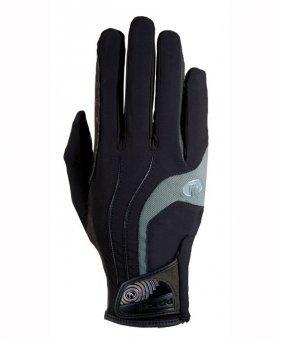 Roeckl Malia Riding Gloves Black/Grey 8