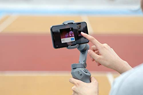 DJI Osmo Mobile 3, Estabilizador de 3 Ejes para Smartphone Compatible con iPhone y Smartphone, Android, diseño Ligero y Portátil, grabación Estable, Control Inteligente